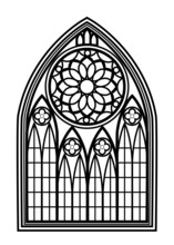 Window For Churches And Monast...