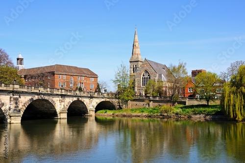 Valokuva  The English Bridge, Shrewsbury.
