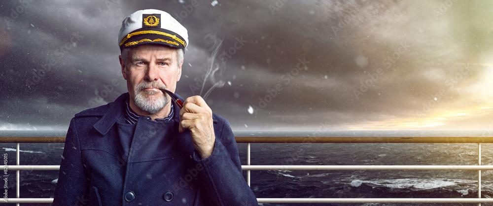 Fototapety, obrazy: Captain