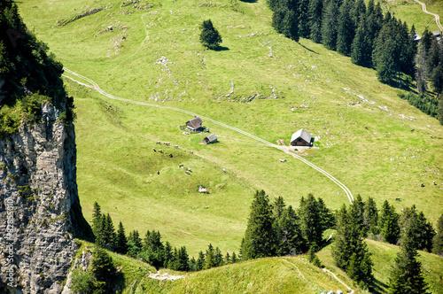 Fotografie, Obraz  Panoramablick