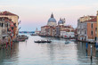 Grand Canal and Basilica Santa Maria della Salute in Venice