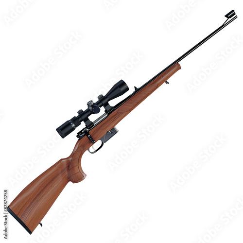 Fotografía  Old style rifle