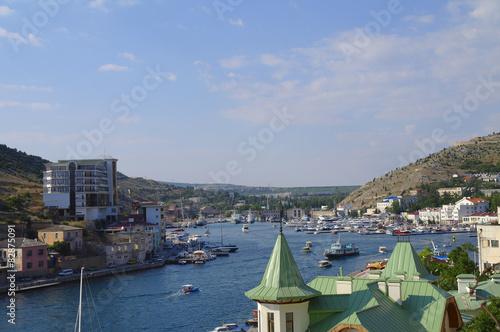 Tuinposter Dubai Крым, Балаклава