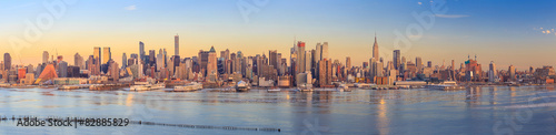 Foto op Canvas New York New York City skyline