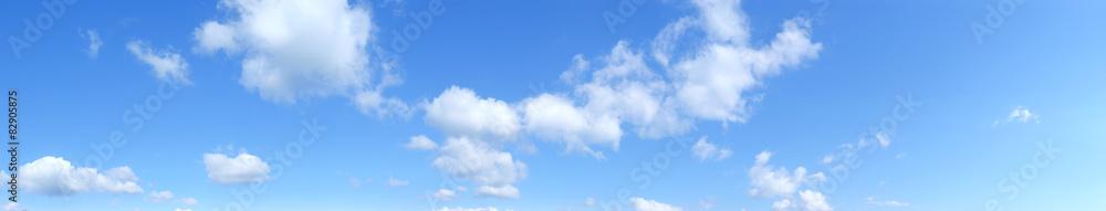 Fototapeta Panoramica di un cielo con nuvole
