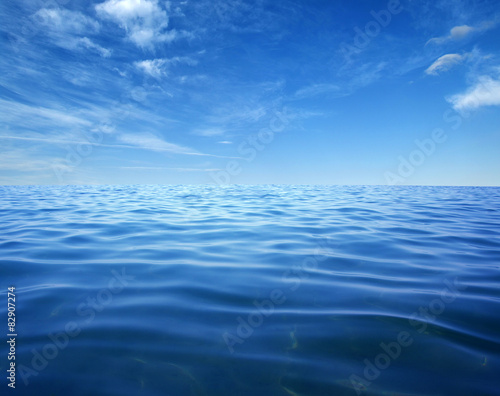 Wall Murals Ocean Blue sea