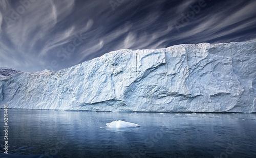 Ingelijste posters Antarctica greenland glacier