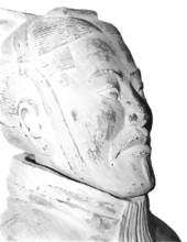 Illustration Eines Kriegers Der Terrakottaarmee