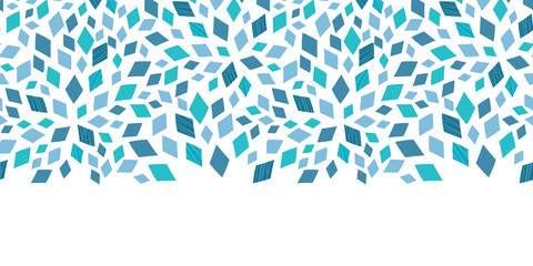 Vector blue mosaic texture ...