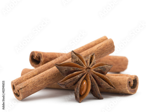 Fototapeta  anise and cinnamon obraz