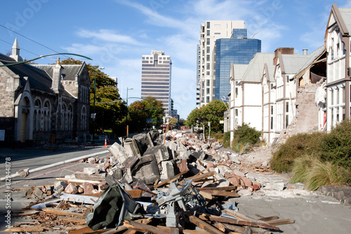Canvas Print Christchurch Earthquake 2011