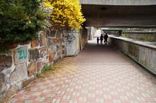 The Walkway That Runs Along Th...