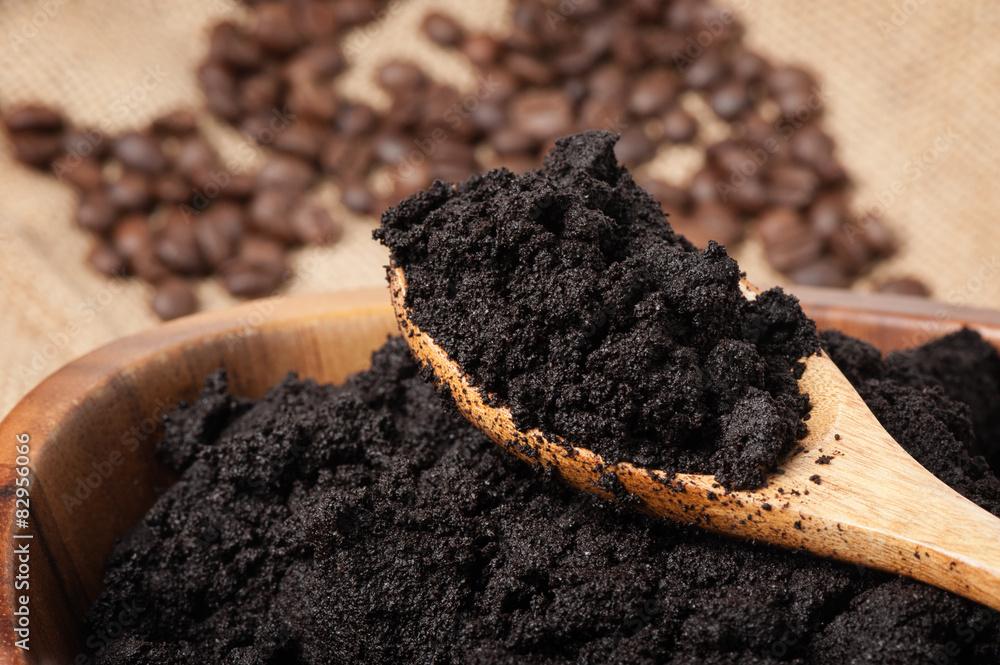 Fototapeta coffee ground