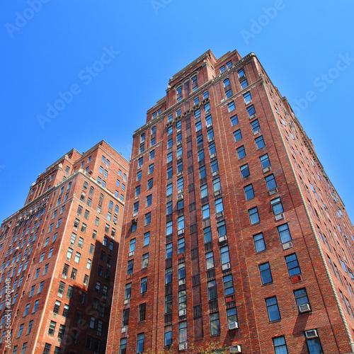 New York City / Chelsea buildings Poster