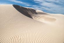 Single White Sand Dune