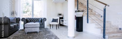 Fényképezés  Panorama of sitting room