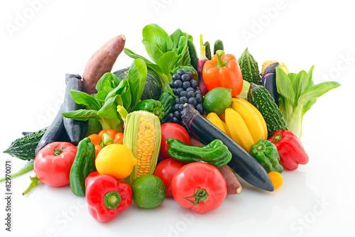 Fototapeta 新鮮な野菜 obraz