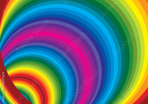 Photo Stands Spiral spirale colorata