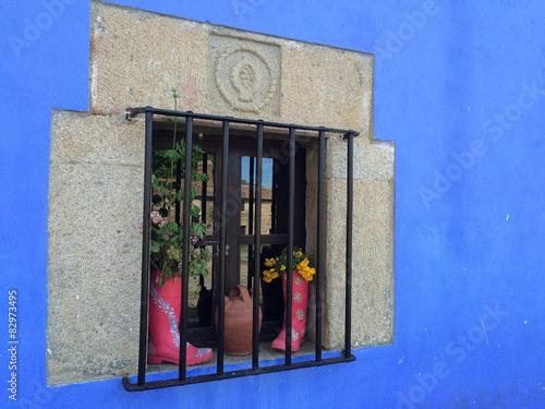 Fényképezés  original decoracion de una ventana
