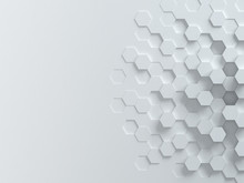 Hexagonal Abstract 3d Background