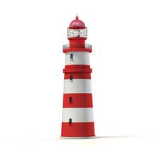 Lighthouse 3d Illustration