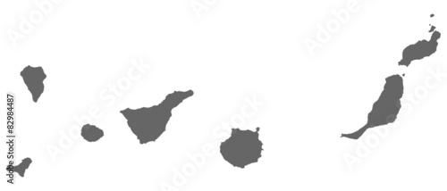 Fotografia  Kanarische Inseln in grau