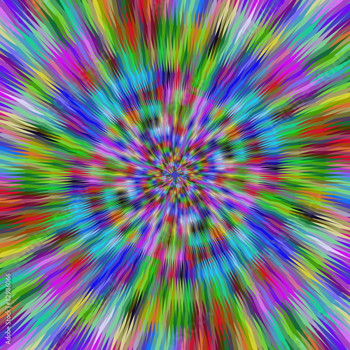 Photo Stands Psychedelic Vibrant explosion design background