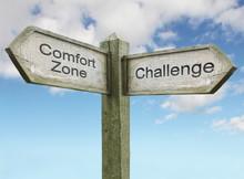 Comfort Zone/ Challenge Sign C...