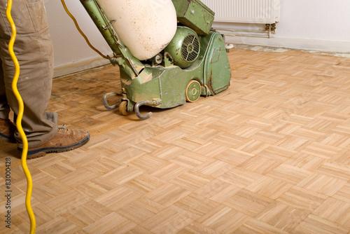 Obraz Parkett schleifen - fototapety do salonu