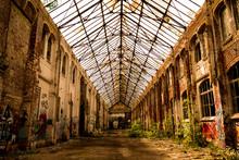Urban Exploration: Abandoned Factory Hall - Leipzig, Saxony