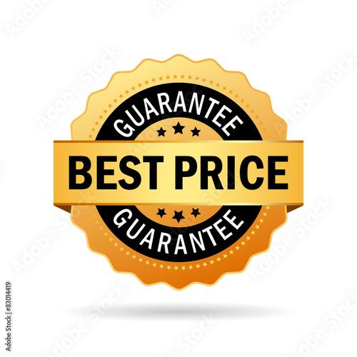 Fotografía  Best price guarantee icon