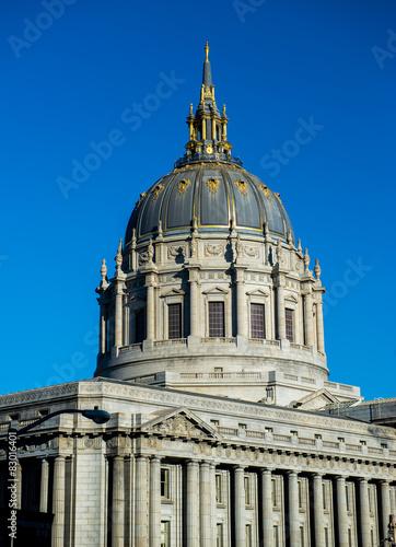 Fotografie, Obraz  Dome of San Francisco City Hall