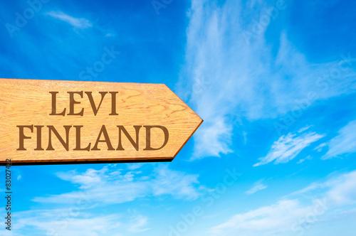 Photographie  Destination LEVI, FINLAND
