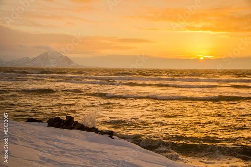 Papiers peints Arctique Arctic winter in south Spitsbergen