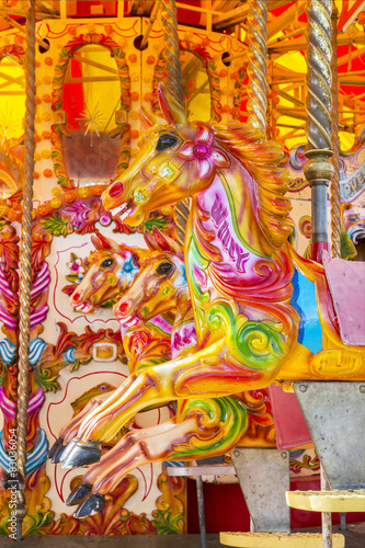 Poster Imagination merry go round