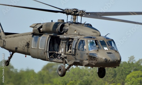 Carta da parati  UH-60 Blackhawk Helicopter