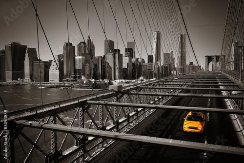 Poster New York TAXI Manhattan