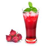 Sok z hibiskusa