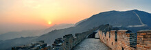 Great Wall Sunset Panorama