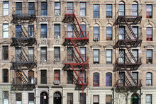 New York City / Fire Escape In Harlem