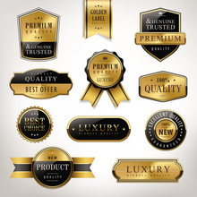 Luxury Premium Quality Golden ...