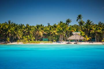 Fototapeta Caribbean wild beach, Punta Cana