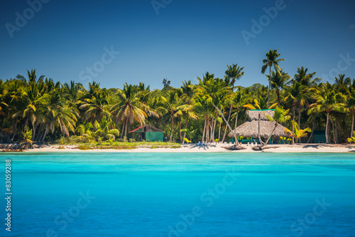 Photo  Caribbean wild beach, Punta Cana