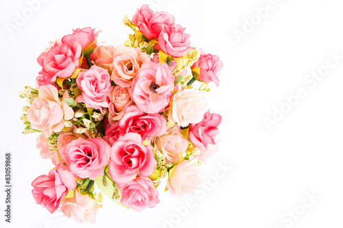 Wall Murals Floral Plastic rose flower