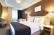 Leinwanddruck Bild - Hotel Room