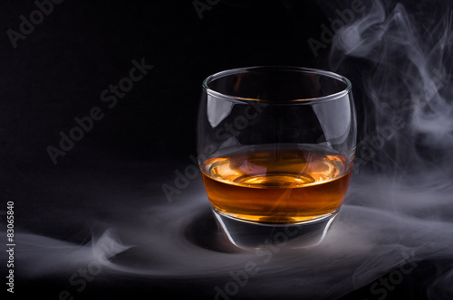 Whisky glass Canvas Print