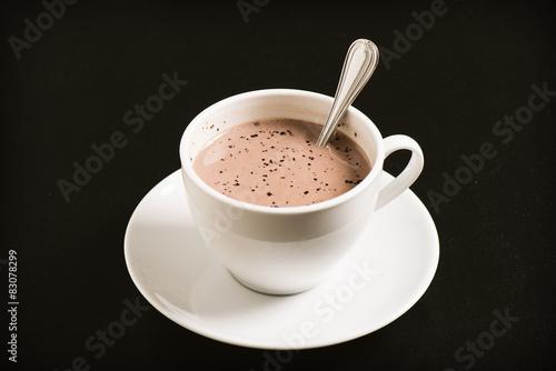 Foto op Plexiglas Chocolade hot chocolate