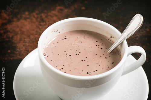 In de dag Chocolade hot chocolate