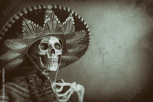 Foto Mexican Bandit Skeleton 7