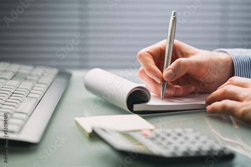 Fotografie, Obraz  Úřad práce - sekretářka nebo účetní
